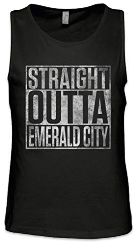 Straight Outta Emerald City Herren Männer Tank Top Training Shirt Größen S – 5XL