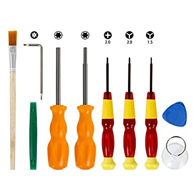 Nintendo Screwdriver Set- Younik Precision Screwdriver Repair Tools Kit for Nintendo Switch / DS /DS Lite /Wii /GBA and other Nintendo Products from Younik Tech
