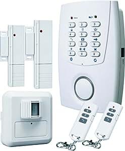 Flamingo HA32S Kit d'alarme sans fil avec transmetteur téléphonique 433 MHz