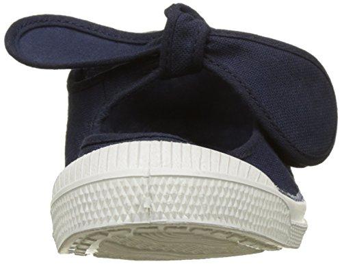 Bensimon - Tennis Flo Pat, Basse Bambina Blu (Marine)