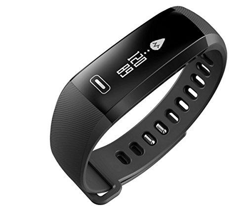 Fitness Tracker, Sport Smart Armband Herz Rate Monitor Tracker Smart Armband Activity Tracker Bluetooth Schrittzähler mit Sleep Monitor Smartwatch für Android oder iOS Smartphones...