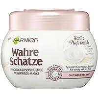 Garnier Wahre Schätze, Mascarilla para cabello con avena, 3 x 300ml