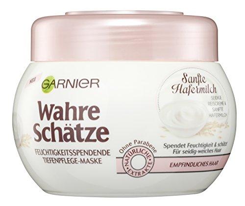 Garnier Wahre Schätze Feuchtigkeitsspendende Tiefenpflege-Maske 3er Pack (3x 300ml)