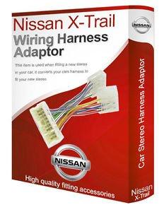 Nissan X-Trail CD radio stereo wiring harness adapter lead loom ISO converter - Nissan Radio Cablaggio