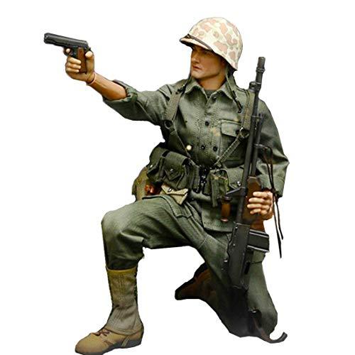 Batop WWII US Navy Soldaten Kostüm für 1/6 Soldat Actionfigur Modell Spielzeug Figuren Militär Soldat Modell (Körper und Kopf Nicht enthalten)