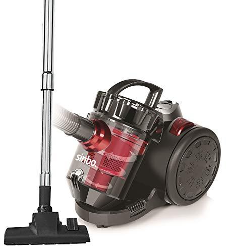 Staubsauger beutellos | Bodenstaubsauger | beutelloser Staub Sauger | Mini Sauger | Bodensauger | Vaccum Cleaner | 890 Watt | Zyklon-Technologie | 1,5 Liter Staubbehälter | 5m Kabel |