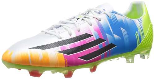 Adidas F30TRX FG Messi, Fußballschuhe Herren Blanc (Blanc/Noir1/Solsli)