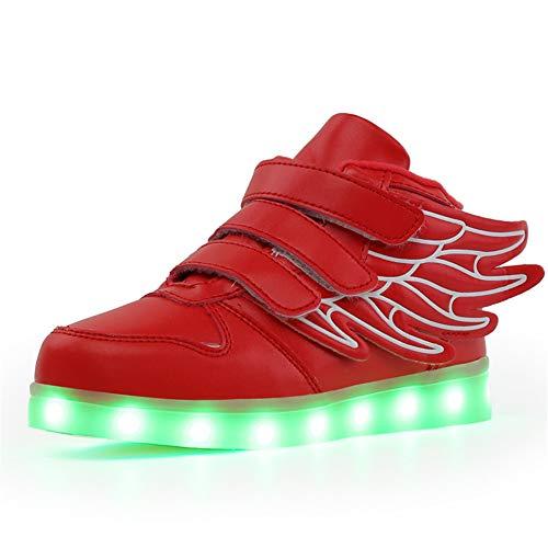Ali-tone Unisex Adulto Scarpe LED Luminosi Sneakers con Luci Accendono Scarpe Uomo/Donne Sportive Scarpe LED per Un Regalo di Compleanno Regalo di Festa
