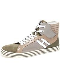 Hogan 7176N Sneaker Rebel Basket Beige Tortora Scarpe Uomo Shoes Men fd586b3d3b8