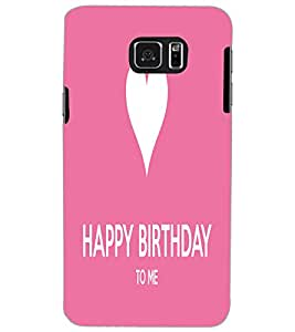 SAMSUNG GALAXY NOTE 5 HAPPY BIRTHDAY Back Cover by PRINTSWAG