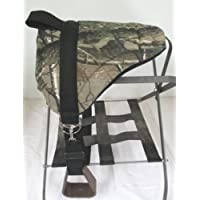 Miniature Horse / Small Pony Bareback Pad Saddle with Stirrups - Camo Real Tree by Party Ponies