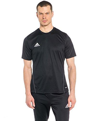 adidas Herren Trikot/Teamtrikot Coref training jersey, Schwarz (Black/White), L -