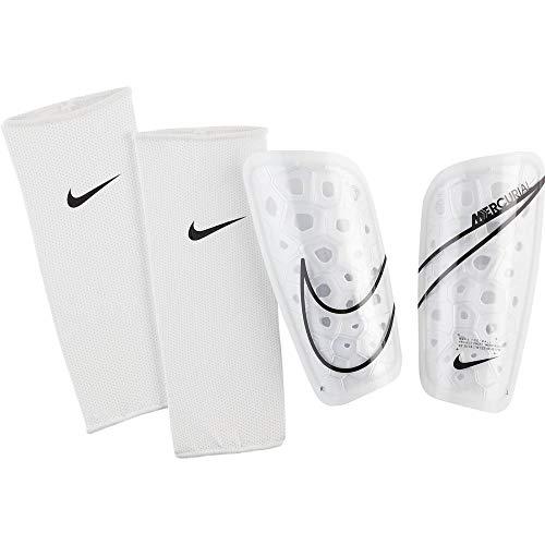 Nike Unisex-Adult Mercurial Lite Schienbeinschoner, White/Black/White, M