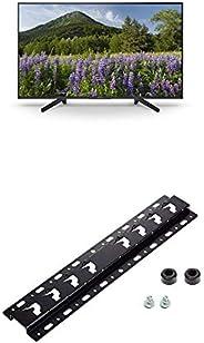 Sony KD-49XF7004 123 cm (49 Zoll) Fernseher (4K HDR, Ultra HD) + Wandhalterung für Bravia TVs (2019, 2018, 201