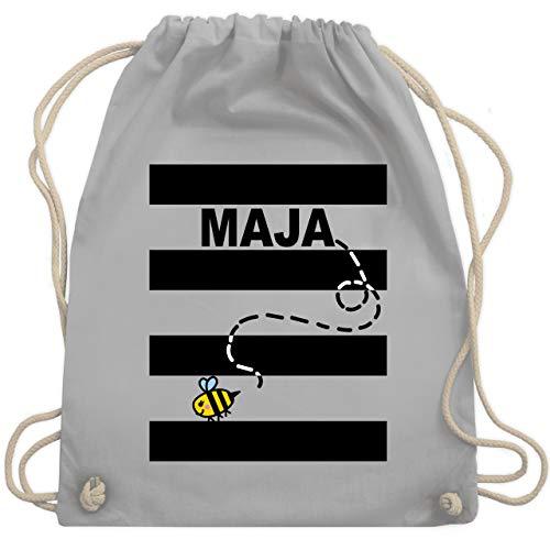 Karneval & Fasching - Bienen Kostüm Maja - Unisize - Hellgrau - WM110 - Turnbeutel & Gym Bag