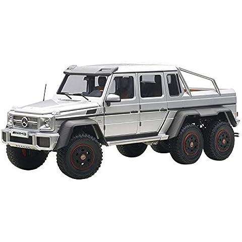 AUTOart 1./1.8. Mercedes-Benz G6.3. AMG 6.X6. (argento)