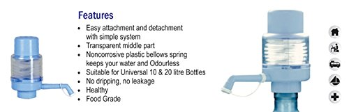 Empathy Manual Water Pump For Bisleri Bottles