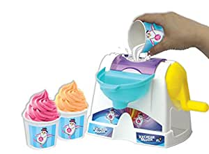 AMAV Toys Ice Cream Maker Machine Toy - Make Your Own Home Made Ice - Cream Multi Color