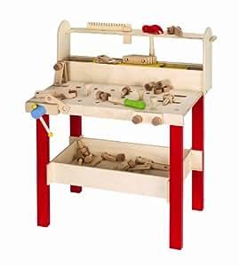 wanju holzwerkbank professional spielzeug. Black Bedroom Furniture Sets. Home Design Ideas
