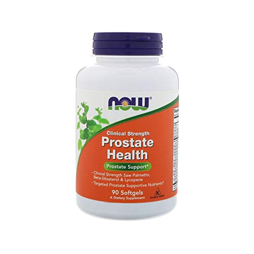 Now Foods Clinical Strength Prostate Health 90 Softgels -