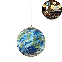 ASDFNF Table Lamp Chandelier, Pendant Light Chandelier Pendant Ceiling Ball Lighting Creative European Modern Simple Art For Reading Living Dining Bedroom Hobby Bar Restaurant Coffee Library(1 Piece S