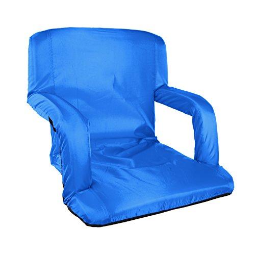Stansport für gepolsterte Armlehnen Stuhl, unisex, blau