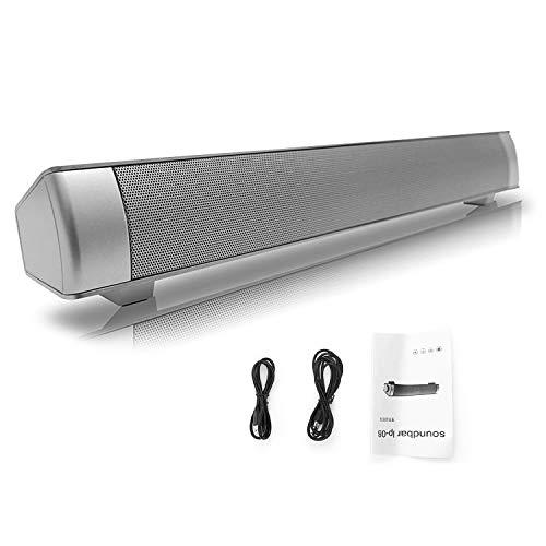 Dailyinshop Barra de Sonido USB TV Subwoofer de Altavoces estéreo para PC...