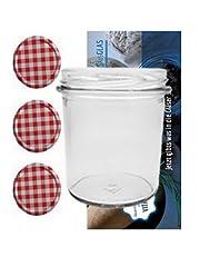 20 Sturzgläser 350 ml Marmeladengläser