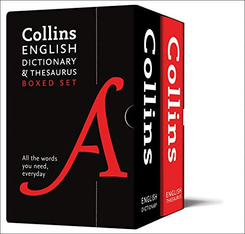 Collins English Dictionary and Thesaurus Boxed Set: All the words you need, every day por Collins Dictionaries