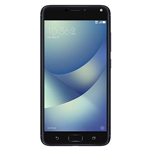 Asus ZenFone 4 Max ZC554KL Smartphone (13,97 cm (5,5 Zoll) Display, 32 GB Speicher, Android 7.1.1) schwarz