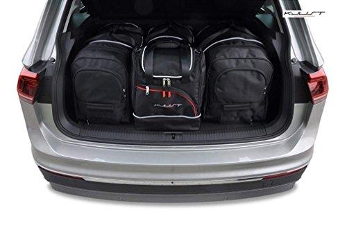 Preisvergleich Produktbild DEDIZIERTE Taschen KJUST VW TIGUAN II 2016+ 4STK KOFFERRAUMTASCHEN ROLLENTASCHEN