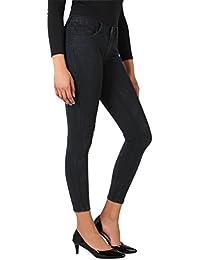 KRISP® Femmes Pantalon Jeans Slim Basique Délavé Tendance Skinny Denim