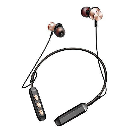 Sport Fitness Bluetooth Headset Jogging-KopfhöRer Hals Montiert Kabelgebundenes Bluetooth Bluetooth-Earphones FüR Mobiltelefone Im Freien Musik-Anti-Shedout-KopfhöRer