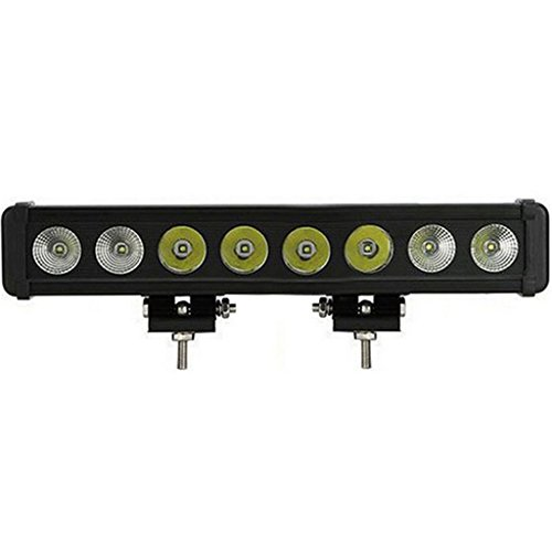 William 337 80W Explosionsgeschützte Geländewagen-Dachleuchten High-Power-Beleuchtung 10W CREE Lange Lichter ( Farbe : Floodlight )