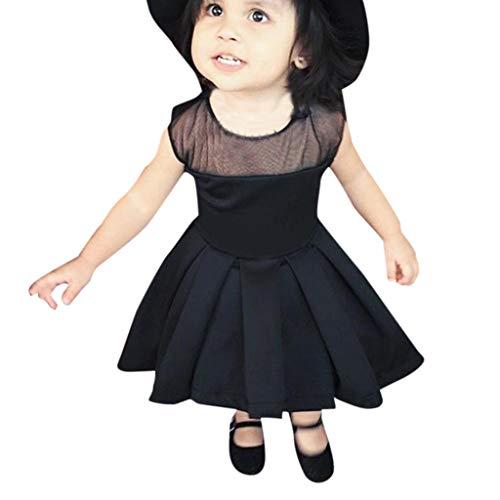 SUCES Mädchen Kleider Kleinkinder Festlich Abendkleid Kinder Unregelmäßiger Rock Brautjungfern Mesh Patchwork Partykleid Princess Mode Tutu Dress