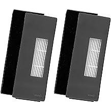 Hepa Filters & Filtros de Espuma para Ecovcacs Deebot Deepoo DT85 DT83 Incluye 2 Filtros Hepa