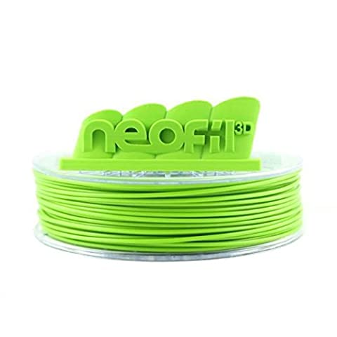 Neofil3D MABS285GR10750G M-ABS Filament pour Imprimante 3D, 2,85 mm, Vert Pomme