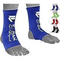 EMRAH tobillo pie tobillera de apoyo Brace Protector de calcetín Kickboxing tailandés, MMA–X, azul