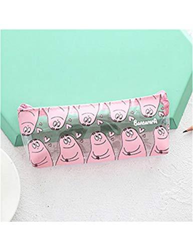 1 Stücke/Verkauf Nette Federmäppchen Halloween Transparent Schöne Pink Panther Muster Schulbedarf Student Schreibwaren Weihnachtsgeschenk,1
