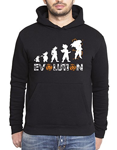 Son Goku Evolution sudadera con capucha para hombre