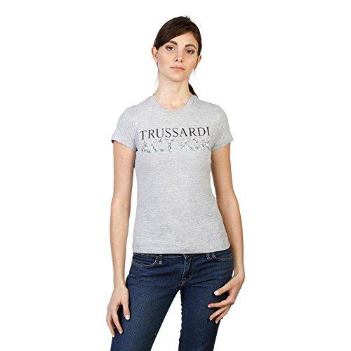 Trussardi 2bt03b t-shirt donna grigio xl