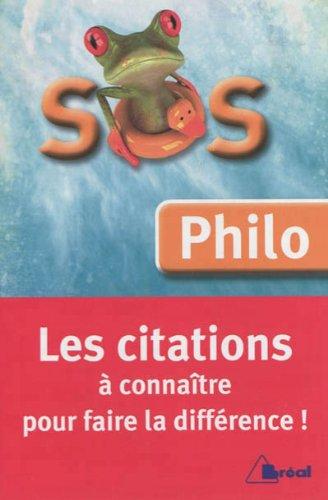 SOS BAC Philo : Les citations incontournables