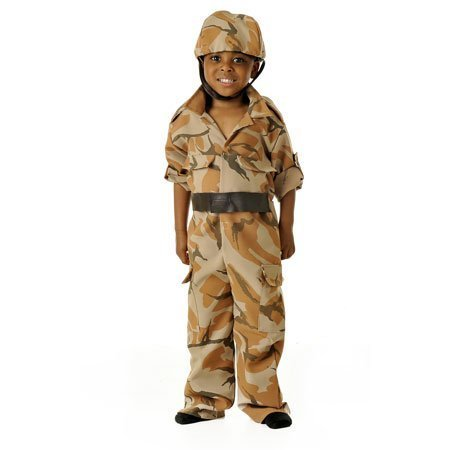 Army Soldier - Kids Costume 5 - 7 years by GSC