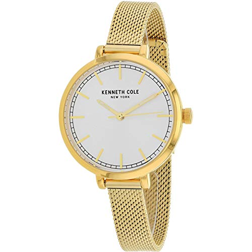 Kenneth Cole Classic Femme 36mm Doré Quartz Montre KC50263006
