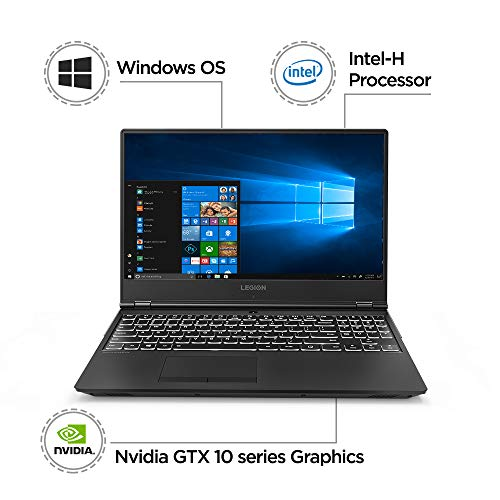 Lenovo Legion Y530 Intel Core I5 8th Gen 15.6 - inch Gaming FHD Laptop (8GB/ 1TB HDD +128GB SSD/ Windows 10 Dwelling/ Nvidia 4GB 1050 Ti Graphics/ Black), 81FV00JLIN Image 2
