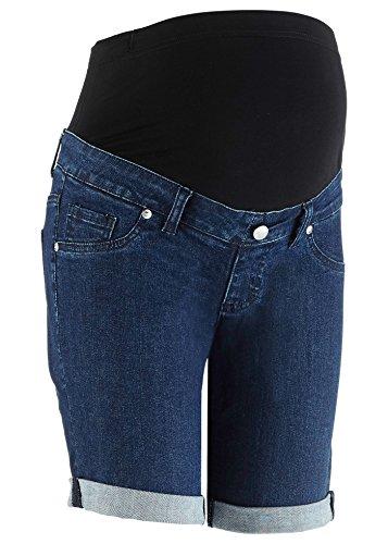 1ab8c47036b5bd bpc bonprix collection - Short spécial grossesse - Femme bleu Darkblue  Stone - bleu - 36