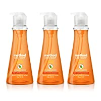 Method Dish Soap, Clementine, 3 Count