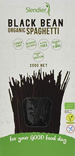 Slendier Black Bean Organic Spaghetti, 200 g, Pack of 6