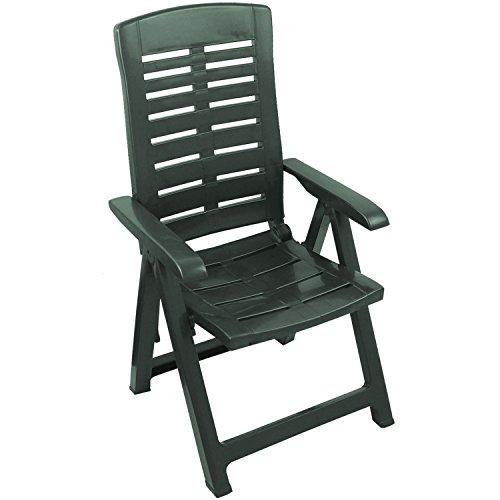 gartenstuhl hochlehner kunststoff gr n schnaeppchen center. Black Bedroom Furniture Sets. Home Design Ideas