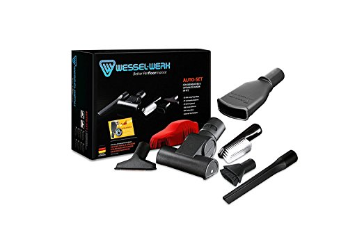 Autopflege-Set Carwash-Edition zur professionellen Innenpflege mit Haushaltsstaubsauger, Waschanlagensauger, SB-Staubsauger